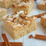 Frosted Apple Cinnamon Snack Cake