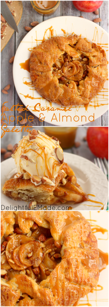 My Salted Caramel Apple & Almond Galette is as easy as pie and tastes ...