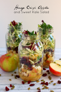 Honey Crisp Apple & Sweet Kale Salad