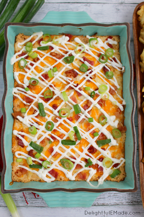 loaded potato dip