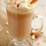 White Chocolate Pumpkin Spice Latte