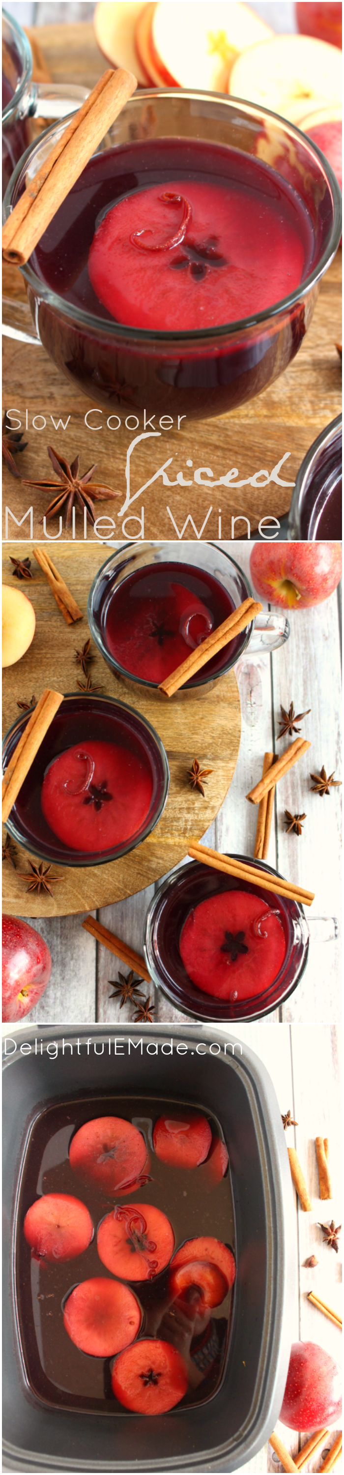 Spiced Mulled Wine DelightfulEMade VertCollage