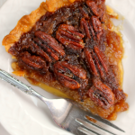 Classic Pecan Pie with Vanilla Bean Whipped Cream