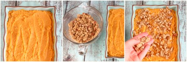 If you love Ruth Chris Sweet Potato Casserole, you can now have it at home! Ruth's Chris restaurants are famous for this amazing Sweet Potato Casserole with pecans.