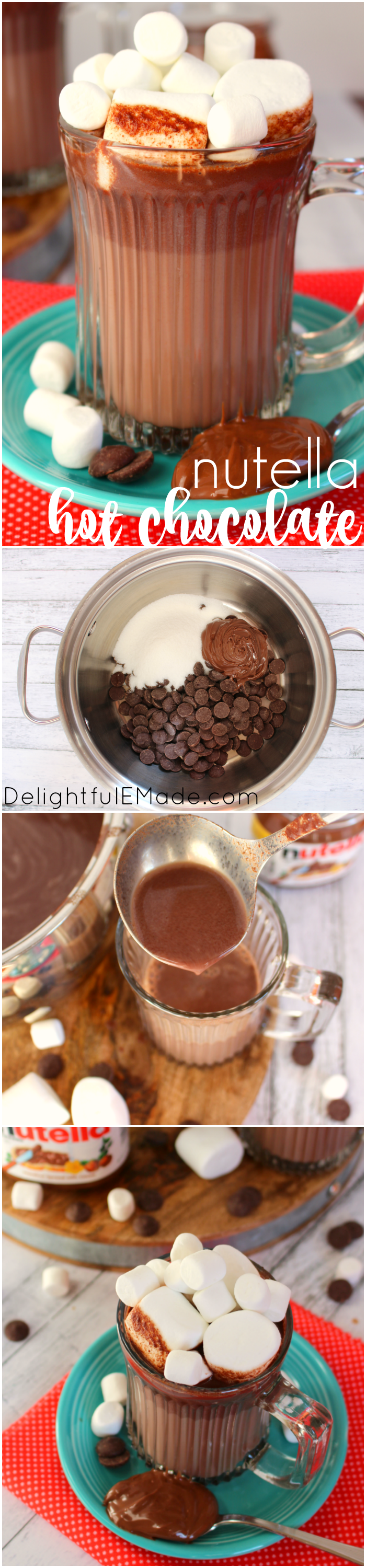 Nutella Hot Chocolate - Delightful E Made