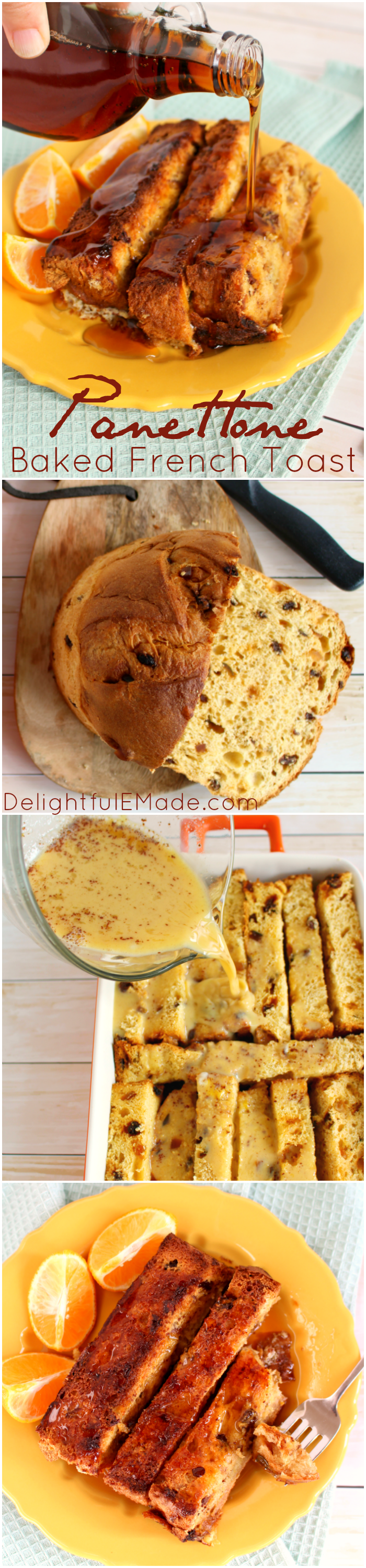 Did You Get A Panettone For The Holidays? Make My Panettone Baked French  Toast