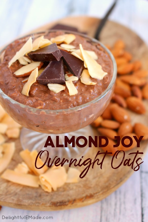 If you've looking for an amazing chocolate overnight oats recipe, look no further! These overnight oats with Greek yogurt make an amazing healthy breakfast loaded with protein and fiber. Oatmeal has never tasted so good!