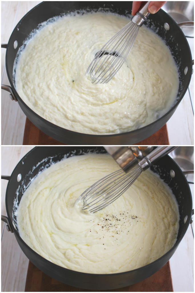 A go-to sauce for so many dishes, this Easy Alfredo Sauce is perfect for pasta, pizza and much more!  Forget the store-bought stuff, this easy homemade Alfredo is made with just a few simple ingredients and comes together in just minutes!