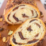 Chocolate Almond Croissant Bread