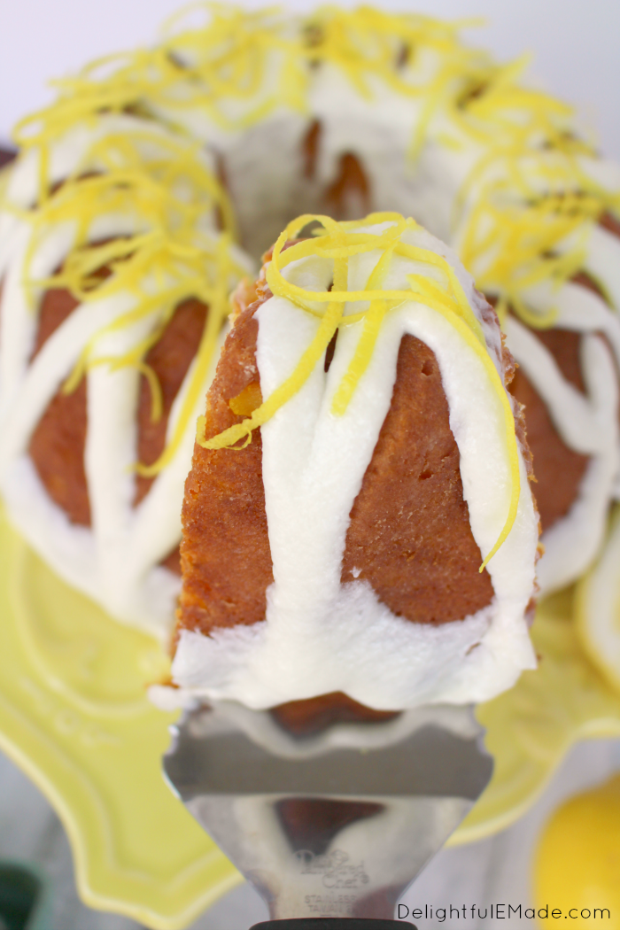 Lemon Bundt Cake Delightful E Made