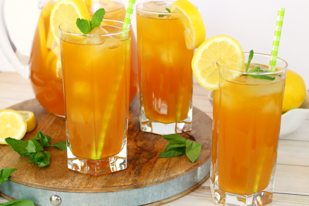 Arnold palmer iced tea delightful e made for Iced tea cocktail recipes