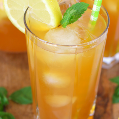 Iced tea and lemonade come together for one refreshing, delicious drink! Named after the legendary golfer, this classic summertime beverage is perfect for sipping after a round of golf, or anytime you want to cool off on a hot day!
