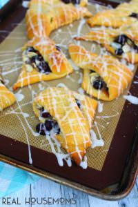 Blueberry Almond Turnovers at Real Housemoms