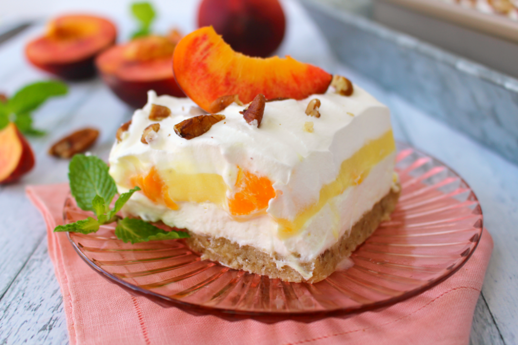 Peaches And Cream Coffee Cake Recipe
