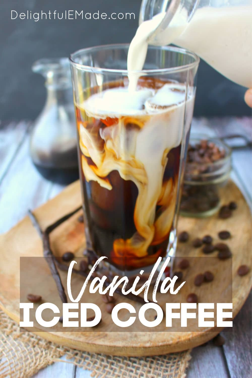 Vanilla Bean Iced Coffee The Easiest Vanilla Iced Coffee Recipe