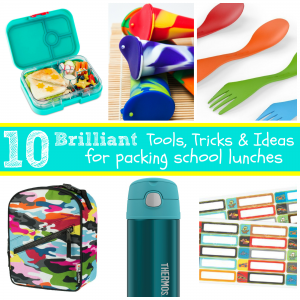 These brilliant lunch packing tools are super helpful in getting lunches ready, and everyone out the door on busy mornings! Lunchboxes, utensils, containers along with recipe ideas will help streamline mornings and help your kids eat a little healthier in the process!