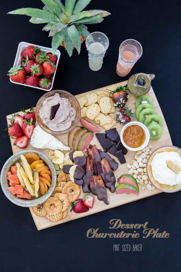 Dessert Charcuterie Plate by Pint Sized Baker