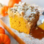 Velvety Pumpkin Crumb Cake
