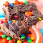 Double Chocolate M&M Bars