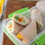 Turkey & Veggie Snack Wraps