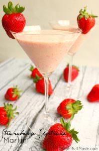 Strawberry Shortcake Martini by Delightful E Made