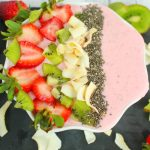 Easy Strawberry Kiwi Smoothie