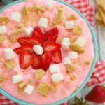 Strawberry Cheesecake Fluff Salad