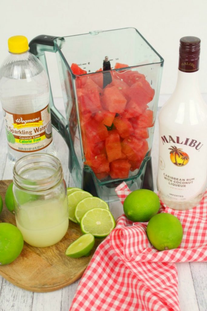 Watermelon Coconut Rum Punch The Best Rum Punch Cocktail