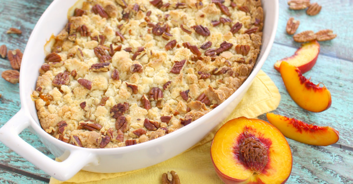 Peach Crisp With Yellow Cake Mix