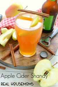 Apple Cider Shandy at Real Housemoms
