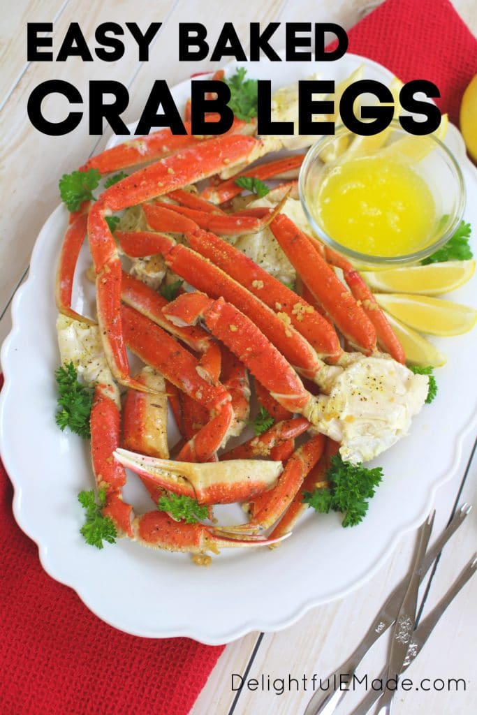 Want to know how to make Snow Crab Legs in the oven? With just 5 ingredients, this simple Baked Crab Legs recipe comes together quickly and easily. Perfect for your holiday parties and dinners!