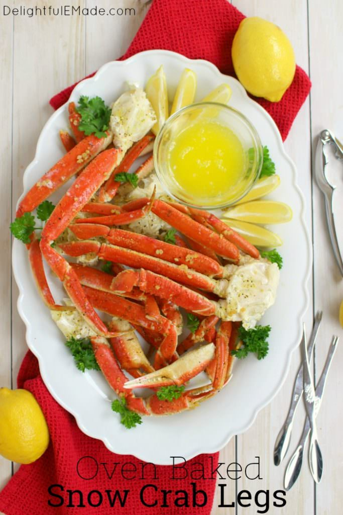 Want to know how to make Snow Crab Legs in the oven? With just 5 ingredients from ALDI, this simple Oven Baked Snow Crab Legs recipe comes together quickly and easily. Perfect for your holiday parties and dinners!