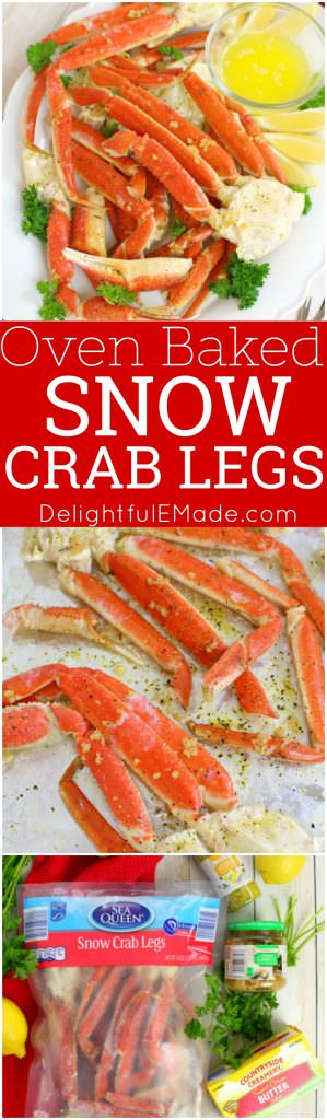 Oven Baked Snow Crab Legs Delightful E Made