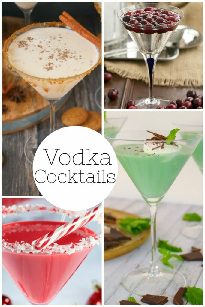 Add a little extra holiday spirit to your Christmas or New Years party with these amazing holiday cocktail ideas! Everything from holiday Mules, Vodka cocktails, Fruity Sangria's, Champagne drinks, and especially hot toddies. Your party will definitely be one to remember this year!