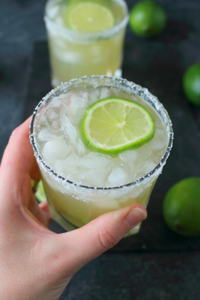 Enjoy your favorite cocktail without all of the guilt! This simple Skinny Margarita is an amazing way to imbibe without all of the calories and sugar. Fresh, easy and completely delicious!