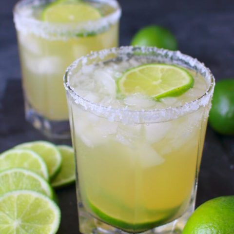 Enjoy your favorite cocktail without all of the guilt! This simple Skinny Classic Margarita is an amazing way to imbibe without all of the calories and sugar. Fresh, easy and completely delicious!