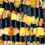 Hawaiian Ham and Pineapple Kabobs