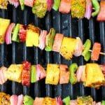 Hawaiian Ham & Pineapple Kebabs