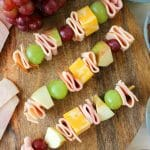 Cheese and Meat Kabobs