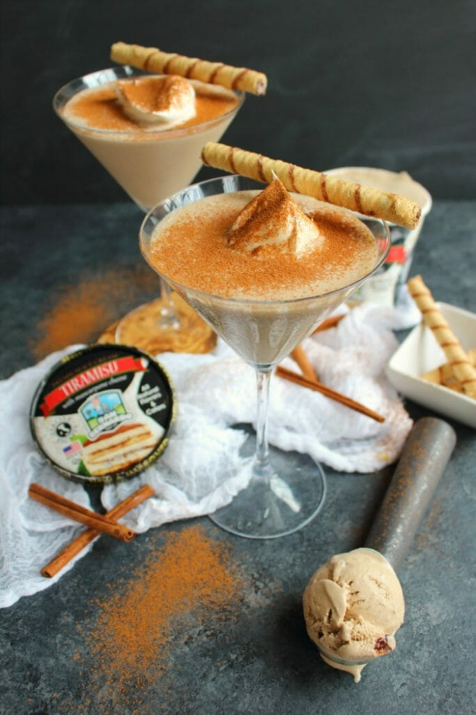 If you love the classic Italian Tiramisu dessert, then this amazing Tiramisu Cocktail will be right up your alley! Made with just 3 simple ingredients, this delicious dessert cocktail is the perfect drink to enjoy anytime you're in the mood for something creamy and sweet!