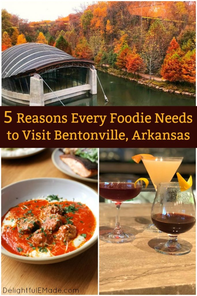 With small-town southern charm, coupled with big city amenities, Bentonville, Arkansas will be your new favorite culinary destination! Incredible food and unique restaurants, Southern farm-to-table experiences, tied seamlessly with world-class art and culture, are just a few reasons you need to visit Bentonville, Arkansas!