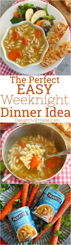When time is tight, getting a delicious dinner on the table for your family shouldn't have to be a big deal. I've put together the perfect Easy Weeknight Dinner Idea that is simple, comforting and completely delicious!