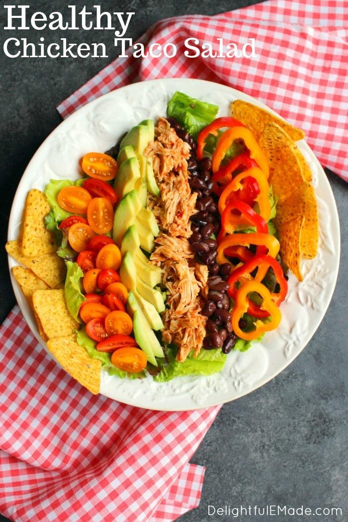 Chicken Taco Salad Recipe Delightful E Made