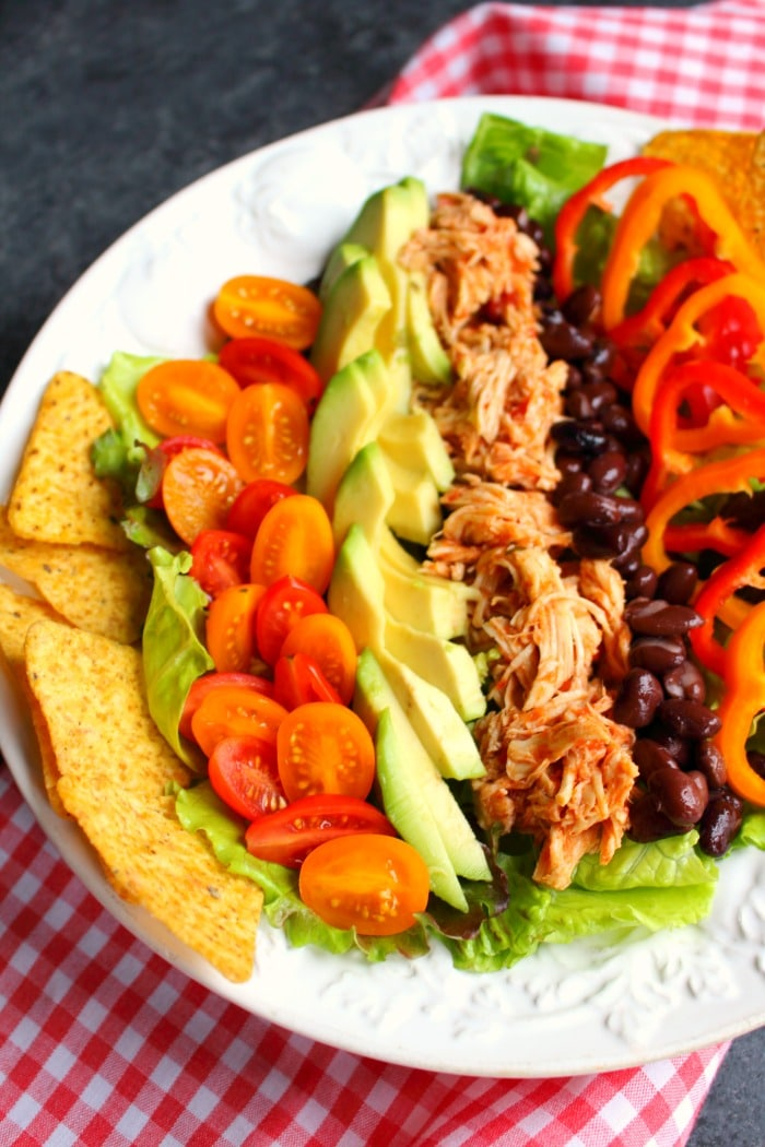 Chicken Taco Salad Recipe Healthy