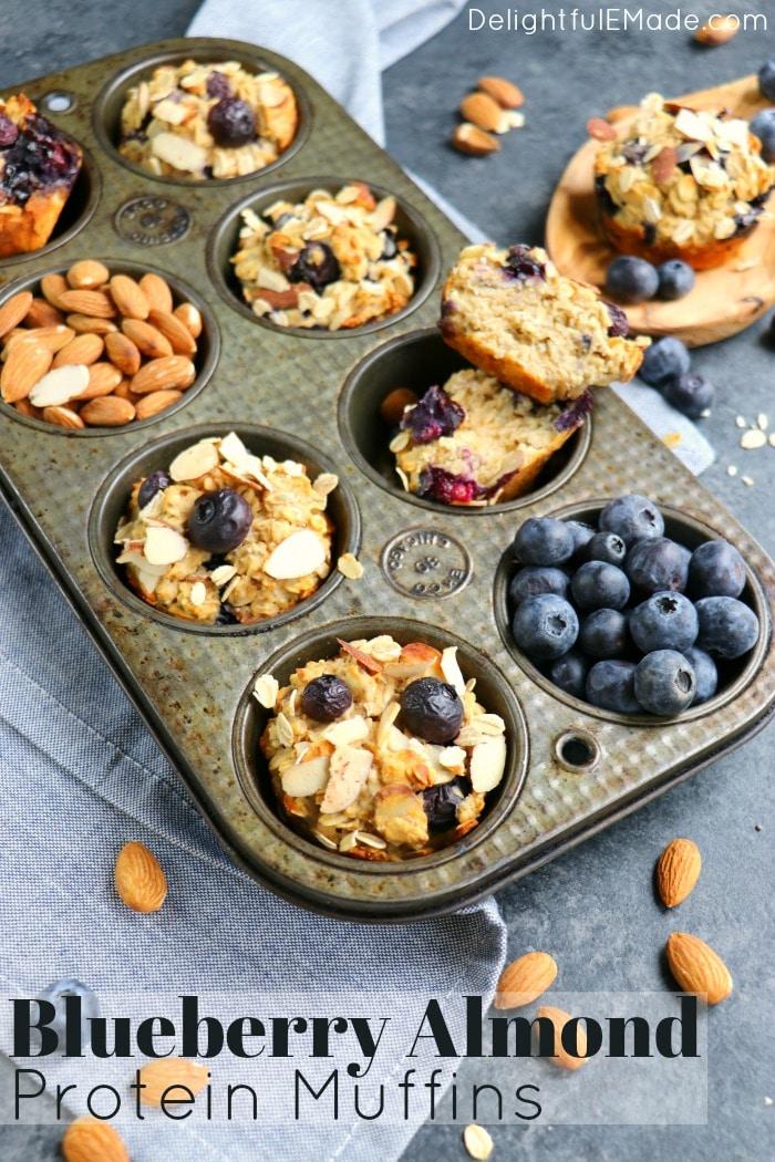Blueberry Protein Muffins Best Protein Muffin Recipe Delightful