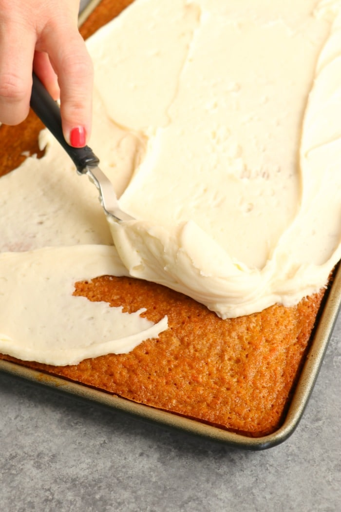 Carrot Cake Sheet Cake The Best Carrot Sheet Cake