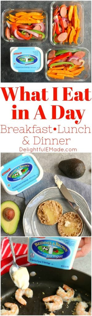 Could you use some new breakfast, lunch and dinner ideas that are easy to make? Let me show you What I Eat In A Day and how I live the better-for-you lifestyle.