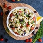 Easy Greek Tortellini Salad Recipe