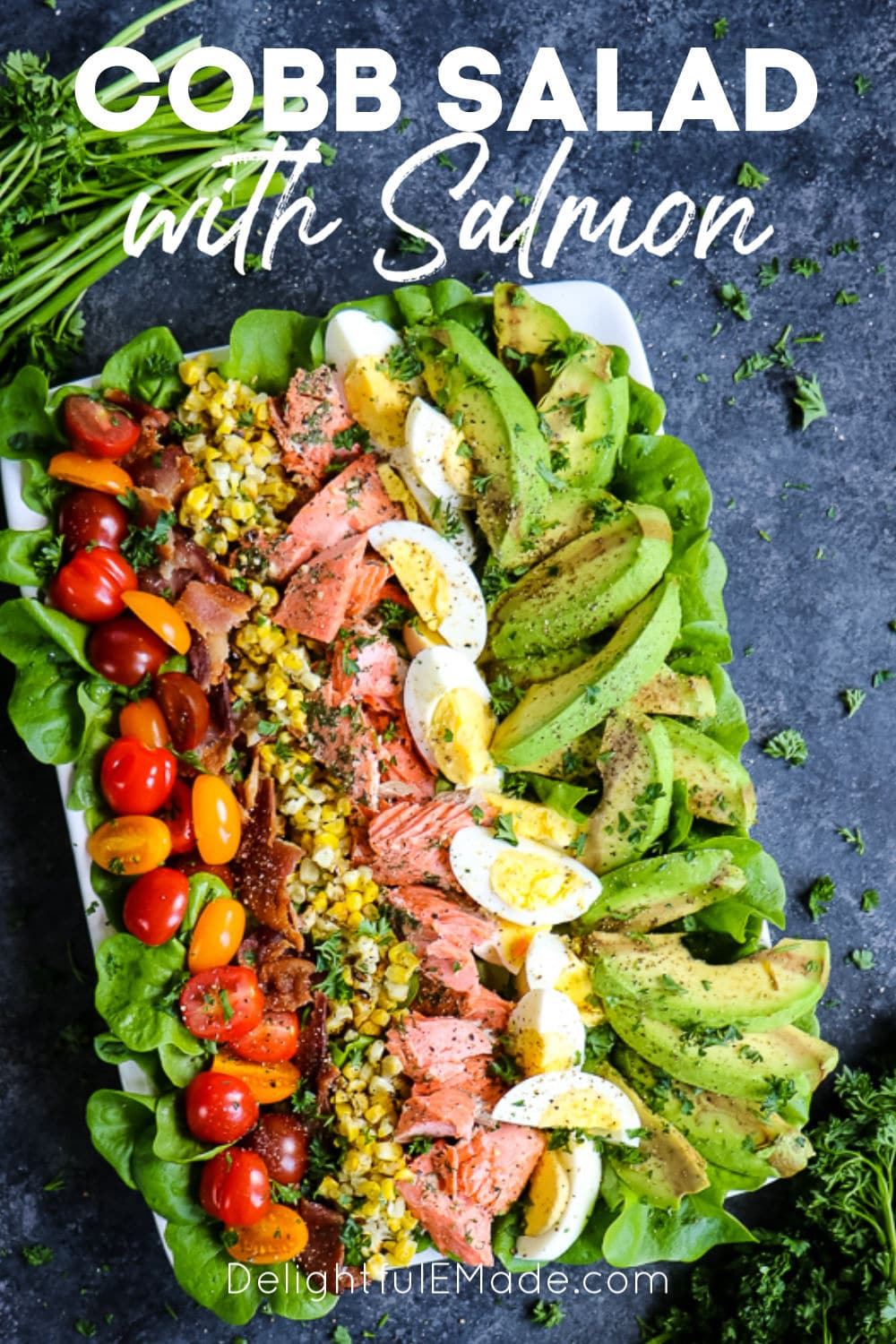 Grilled Salmon Salad The Easiest Meal Prep Salad Recipe