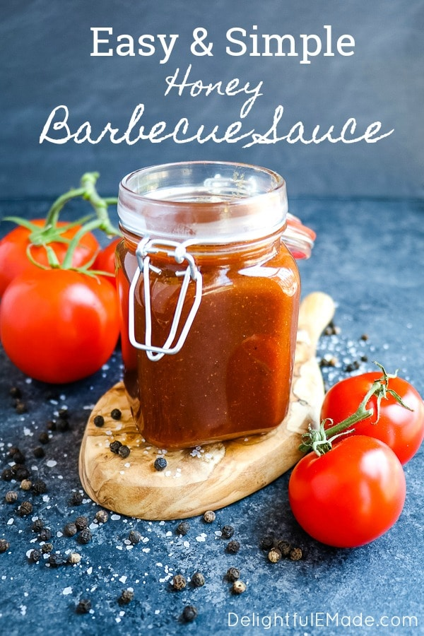 If you're wondering how to make BBQ sauce from scratch, you've come to the right place! My super-simple Homemade Honey BBQ Sauce Recipe tastes absolutely incredible and the perfect way to make your own homemade BBQ sauce from scratch.